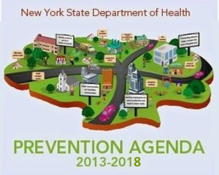NYS Prevention Agenda 2013-2018 Logo