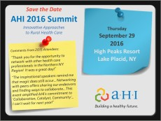 Summit 2016 Save the Date