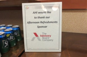 The Advisory Board Company Sponsor